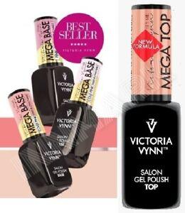 Victoria Vynn MEGA BASE TOP Clear Beige Cover Cold Pink UV/LED Gel Polish & Pure
