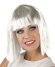 Perruque Courte blanche Femme Cod.61084