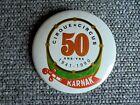 Vintage Karnak Shrine Circus 50 Years 1941-1990 Souvenir Pinback Button