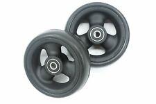 "5"" x 1-1/2"" Pr1mo Composite Wheelchair Caster Wheel (Pair)"