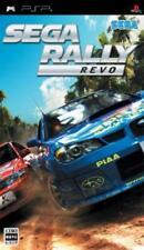 PSP SEGA Rally Revo Japan PlayStaton Portable