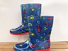 Little Boys Monsters!  Rain Boots/Wellies  by Mountain Warehouse Boys Size 13