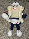 HTF Cleveland Indians Miss Onion Hotdog Stuffed Plush Toy 12in With Purse!