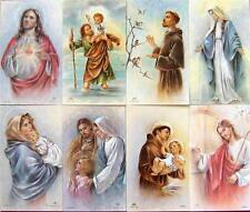 52 COLLECTIBLE ITALIAN CATHOLIC HOLY CARDS COLLECTION