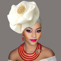African Headband Turban cap Nigeria gele pretty head wraps