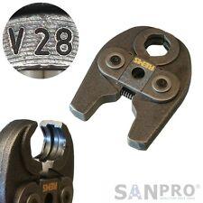 REMS MINI Pressbacke V28 Presszange Profil V 28 - Z.B. f. Viega Kupfer/Edelstahl