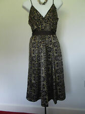 Lovely Lined Easywear Esprit Dress with TieBelt SilkyTouch 10 Cruise/Party/Races
