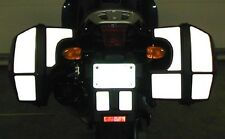 BMW K1200RS Side Bag Reflective Tape Kit by Moto Equip