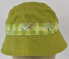 Green Buzz Off Insect Shield Brand Embroidered Bucket Hat Cap Fitted