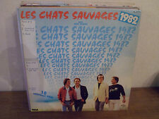 "LP 12"" LES CHATS SAUVAGES 1982 - VG+/VG+ - RCA VICTOR - PL 37570 - FRANCE"