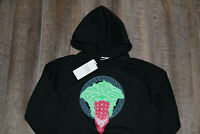 Crooks and Castles Black Green Medusa Sweatshirt Pullover Hoody Brand New In Bag
