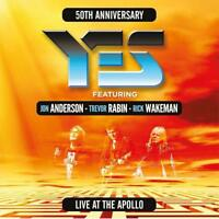 JON YES FEAT. ANDERSON/TREVOR RABIN/RICK WAKEMAN - LIVE AT THE APOLLO  2 CD NEU
