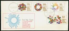 Mayfairstamps Singapore FDC 1971 Commonwealth Govt Meeting Combo First Day Cover