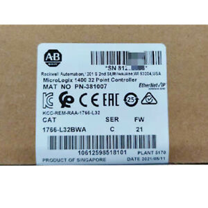 Allen-Bradley 1766-L32BWA MicroLogix 1400 32 Point Controller Factroy Sealed