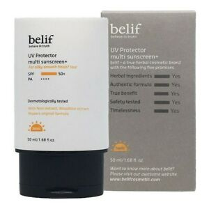 BELIF UV Protector Multi Sunscreen Plus (50ml) SPF50+/PA++++ [Made in Korea]