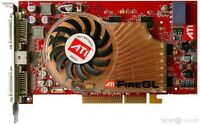 ATI X3 256MB AGP Video Card 102-A30107-10