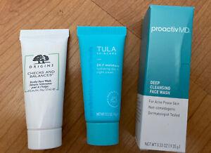 3 x Women Facial Skincare - Origins - Tula - Proactiv MD