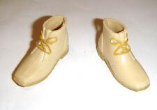 Ken Size Beige Short Boots Shoes For Ken Dolls sh34k