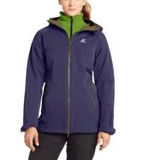 Salomon Women's 3 In 1 Snow Flirt Jacket size Medium Ski Coat Long/Slim Fit
