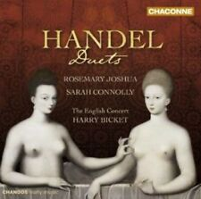 1-CD HANDEL - DUETS - ROSEMARY JOSHUA / SARAH CONNOLLY / THE ENGLISH CONCERT / H