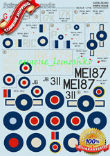 "Print Scale 72-091 "" Wet Decal for Fairey Barracuda "" Model Decals 1/72"