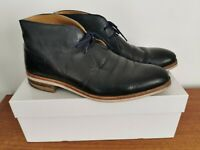 Russell & Bromley 'Jermyn'  Navy Calf Leather Desert Boots Size UK 8 * RRP £165