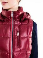 Tommy Hilfiger Women's gilet VIRGINIA DOWN with a hood red M