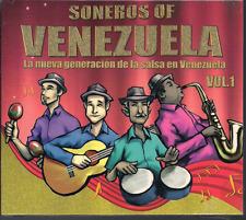 rare salsa cd SONEROS DE VENEZUELA V1 Elio Pacheco PATATIN Rey Torcat SINSAYE