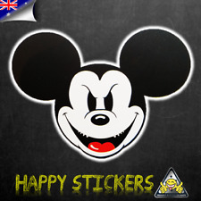 Evil Mickey Mouse Luggage Car Skateboard Laptop Scooter Vinyl Decal Sticker