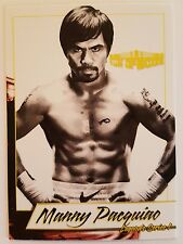 Manny Pacquiao 4LUVofBOXING 2017 Legends Series 1 Boxing Card Pacman