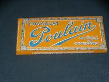 CHOCOLAT POULAIN - RARE TABLETTE FACTICE - 1925