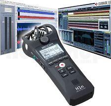 Zoom H1n Audio Hand Digital Diktiergerät mit Display + USB + SD Karten Card Slot