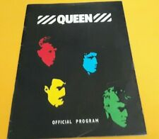 Vintage - Queen 1982 Tour Book/ Rare