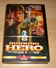 VHS Film - Running Hero - Daniel Greene - Bo Svenson - Action - Videokassette