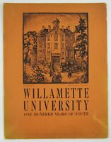 Willamette University Salem OR History Constance Fowler 100th Anniversary 1942