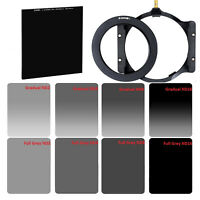 Zomei Square Filters GND ND2+4+8+16+Glass ND1000+77mm Ring+Holder for CokinZ