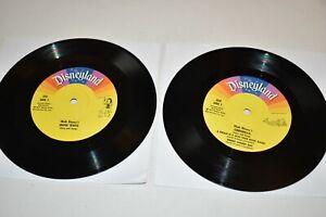 Lot of 2 Disneyland Records - Cinderella & Snow White Heigh-Ho