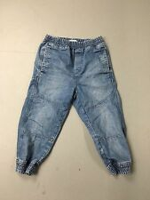Men's TOPMAN Cropped Cuffed Jeans - W28 - Faded Navy Wash - Great Condition