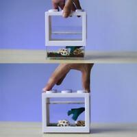 Mini Cute Aquarium Aquarien für Schildkröte und Pet Fish Office Desktop Home