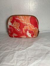 Estee Lauder Cosmetic MakeUp Bag Pink Floral 6�x7�