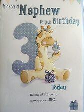 Nephew 3rd Birthday Card