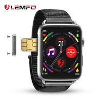 Lemfo LEM10 smart watch 4G HD front camera GPS WiFi 1+16G for Xiaomi iPhone