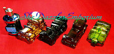 Vintage perfume glass bottle car collection lot 6 by AVON