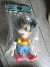 Disney-Pouet Mickey-Grand modèle-Ledraplastic-Sous cello d origine-Années 60