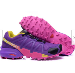 woman's Salomon Speedcross 4 Athletic Running Sports Outdoor breathable Shoes
