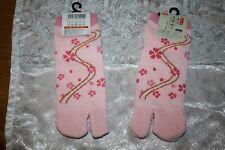Trend! Tabi jp. Kimono Socken für Damen Gr. 36/37 SAKURA Kirsche Blüten Süß+Warm