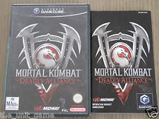JEU NINTENDO GAMECUBE  MORTAL KOMBAT DEADLY ALLIANCE COMPLET  ,