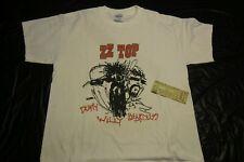 Zz Top 2003 Concert T-Shirt, Plus Ticket Stub, Va Beach, Va., Size Large