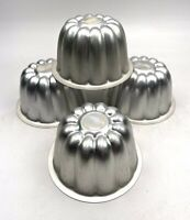 4 X Italian Panetone Cake Moulds Tins Patisserie Baking Bake Off Kitchenalia