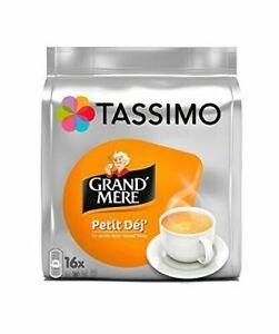 Tassimo Café Dosettes - 80 boissons Grand Mère Petit Déjeuner lot de 5 x 16 b...